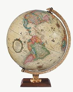 Replogle Globes 83502 Illuminated Carlyle Globe, Small, Off- Off-White