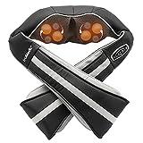 TruMedic InstaShiatsu+ Shiatsu Neck & Shoulder Massager with Heat - 3 Massage Speeds, Cordless & Rechargeable - Use at Home & Office (IS-3000PRO)