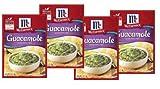 McCormick Guacamole Seasoning Mix (1 oz Packets) 4 Pack