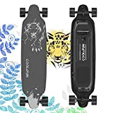 MARKBOARD Electric Skateboard, Electric Longboard skateboarding with Remote Control Wireless Electric Scooter Max