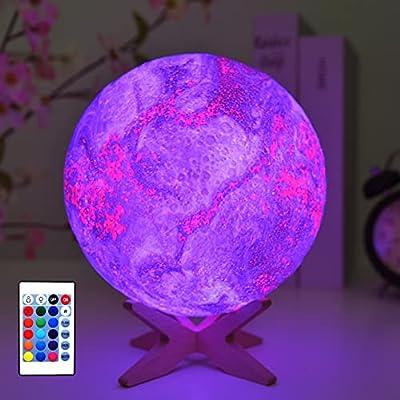 Amazon - 50% Off on Lava Lamp Magma Night Light Cool Decor' Lamp Galaxy lamp Creative LED