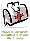 Botiquín de medicamentos homeopáticos de urgencia para el viajero