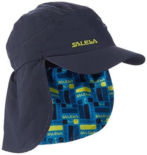 SALEWA Erwachsene Kappe Sun Protect Neck Gaitor K Cap, Eclipse/2080, M/53, 00-0000024730