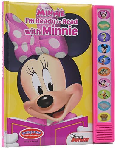 Disney Minnie Mouse - I'm Ready to Read with Minnie Sound Book - PI Kids (Play-A-Sound)