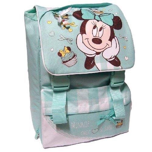 Minnie Disney rugzak scheidbaar groen school 2014-2015