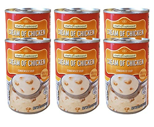 Chef's Cupboard Classic Cream of Chicken Condensed Soup - 10.5 oz (6 Cans)