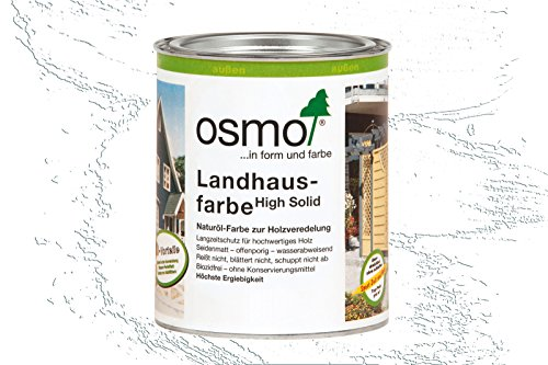 Osmo Landhausfarbe 2101 Weiß 25L