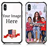 Custom Case for Apple iPhone xs max (6.5inch) Personalized Custom Picture Phone Case -Customizable Slim Soft and Hard tire Shockproof Protective Anti-Scratch Phone Cover Case- Make Your Own Phone Case