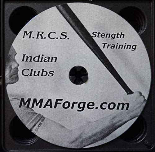 Kalaj Kutter New Indian Clubs Single or Pair Workouts Strength Training Work Out Instruction DVD