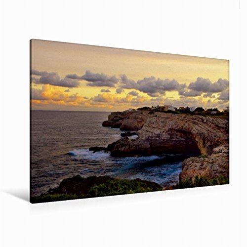 Premium Textil-Leinwand 120 x 80 cm Quer-Format Mallorca ohne Strand und Bikini | Wandbild, HD-Bild auf Keilrahmen, Fertigbild auf hochwertigem Vlies, Leinwanddruck von Manfred Spengler