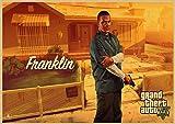 Cuadro en Lienzo 30x45cm Sin marco Cuadros impresos de la pared del cartel del juego de Grand Theft Auto para la pintura decorativa casera