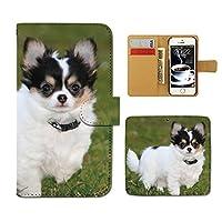 Galaxy A21 SC-42A ケース 手帳型 犬 手帳ケース スマホケース カバー 犬 いぬ イヌ ペット 子犬 ドッグ E0266030114905