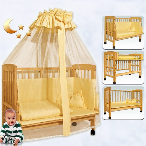 Cheap Price Wooden Baby Cot Bed Nursery Furniture Baby