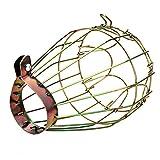Protector de jaula para bombillas, aislamiento de mascotas, protector de malla repelente para barra de casa, lámpara de metal