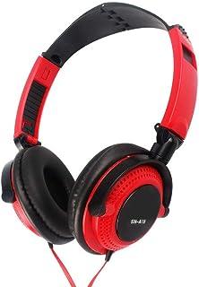 Bundle of 2, Docooler 3.5mm Wired Gaming Headset Over-Ear Sports Headphones Music Earphones with Microphone In-line Control for Smartphones Tablet Laptop Desktop PC