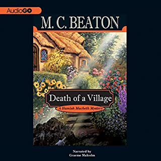 Death of a Village audiobook cover art