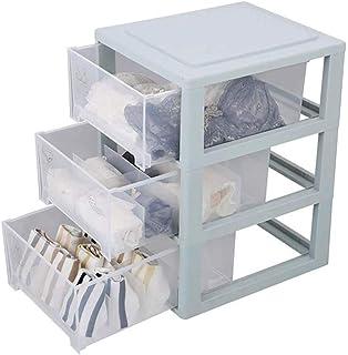 ADSE Boîte de Rangement de Coffre/Maquillage pour Organisateur de Bijoux en Acrylique Transparent avec 6 tiroirs et Suppor...