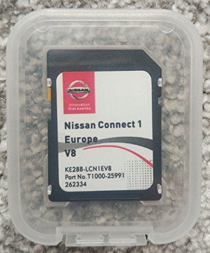 Tarjeta SD de navegación Nissan Connect 1 V8 2018