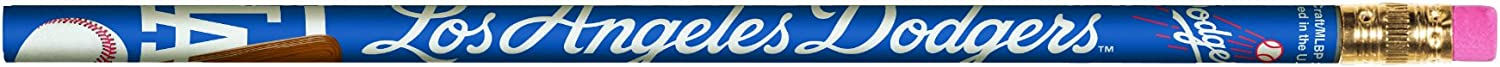 MLB Los Max 52% OFF Angeles Dodgers Pencils 6 Pack Free Shipping Cheap Bargain Gift - of