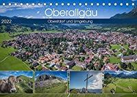 Oberallgaeu - Oberstdorf und Umgebung (Tischkalender 2022 DIN A5 quer): Aussergewoehnliche Landschaftsaufnahmen aus dem Sueden Deutschlands (Monatskalender, 14 Seiten )