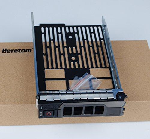 """Heretom F238F 3,5"""" Bandeja de Disco Duro Caddie LFF Tray Caddy para DELL R310 R320 T320 R410 R420 T410 T420 R510 R520 R530 T610 R620 T620 R630 T710 R710 R720xd R810 MD3200 NX3000"""