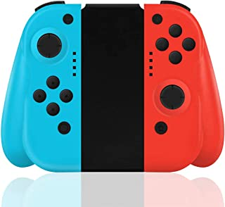 Mandos para Switch Inalámbrico, Maegoo Switch Mando Bluetooth Controller Gamepad Joysticks Reemplazo Joypad con Doble Choq...