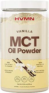 H.V.M.N. MCT Oil Powder - Keto Creamer Powder, for Keto Coffee Creamer, Keto Shake - Pure C8 MCT Oil from Acacia Fiber Pow...