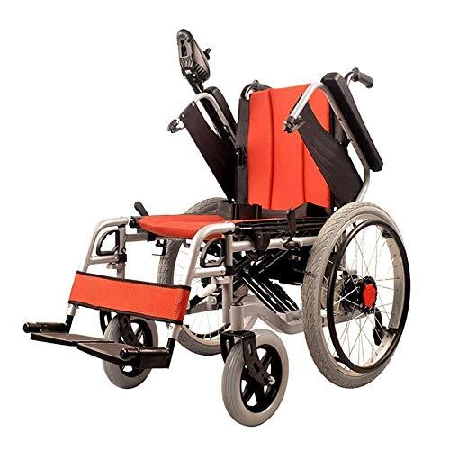 FKYTH Elektrorollstühle, faltbares Polymer, Antrieb oder Verwendung als manuelle Deluxe-Allrad-Rollstuhl-Li-Ionen-Batterie (20 A)