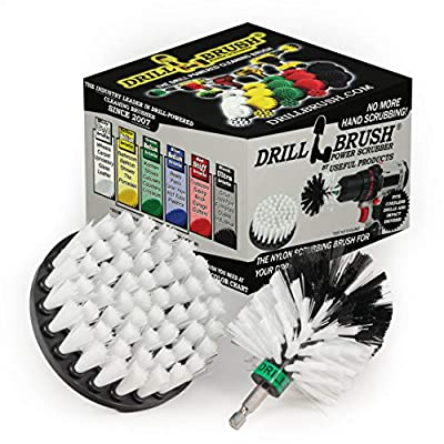 Drill Brush - Motorcycle - Car - Truck - Cleaning Supplies - Motorcycle Accessories - Detail Brush - Wheels - Rims - Tires - Saddle Bags - Spin Brush - Windshield - Glass Cleaner - Leather ? Vinyl from