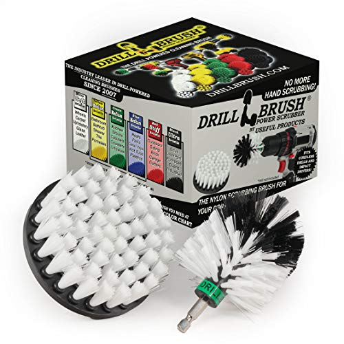 Drill Brush - Motorcycle - Car - Truck - Cleaning Supplies - Motorcycle Accessories - Detail Brush - Wheels - Rims - Tires - Saddle Bags - Spin Brush...