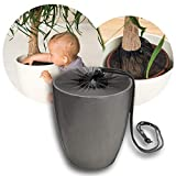 Red de protección de plantas para macetas de hasta 30 cm de diámetro, para que tu hijo no coma tierra.
