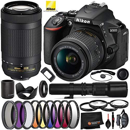 Nikon D5600 DSLR Camera with 18-55m…
