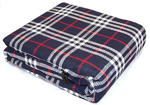 Andes XXL 300cm x 220cm Waterproof Backed Picnic Blanket Rug For Travel Outdoor Camping