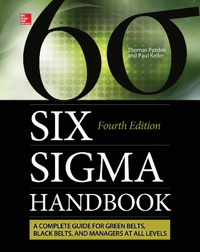Six Sigma Handbook, Fourth Edition (ENHANCED EBOOK) (English Edition) PDF Books