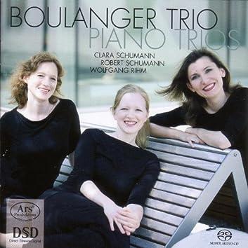 Schumann, C.: Piano Trio, Op. 17 / Schumann, R.: Piano Trio No. 3 / Rihm, W.: Fremde Szenen