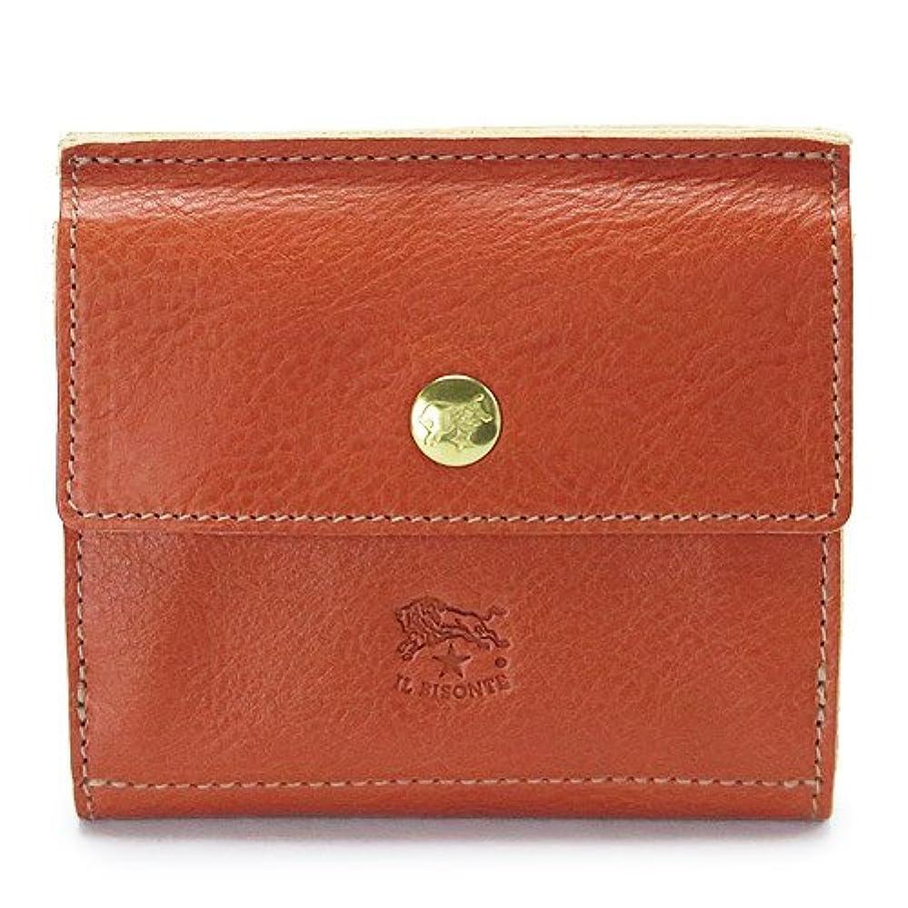 パトロール条件付き矩形(イルビゾンテ) IL BISONTE 折財布 C0910P 145/CARAMEL Wホック 財布 レザー キャラメル [並行輸入品]