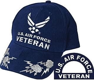 United States Air Force Veteran II Blue Hat Cap USAF