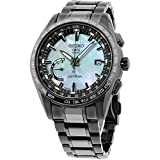 Seiko Astron Men's GPS Solar World Time Ceramic and Titanium LIMITED EDITION Watch SSE091