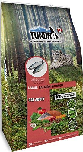 Tundra Cat Trockenfutter (getreidefrei) Lachs - Salmon (6,8 kg)