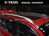 X-TRAIL エクストレイル T32 ルーフレール ルーフラッククロスバー カスタム外装パーツ アクセサリー 2P MOMOKI