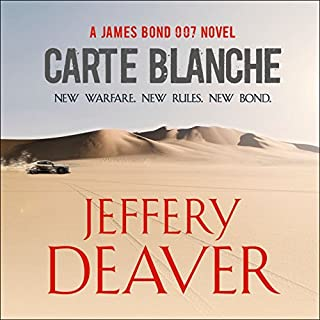 Carte Blanche     A James Bond Novel              By:                                                                                                                                 Jeffery Deaver                               Narrated by:                                                                                                                                 Toby Stephens                      Length: 13 hrs and 31 mins     1,269 ratings     Overall 4.1