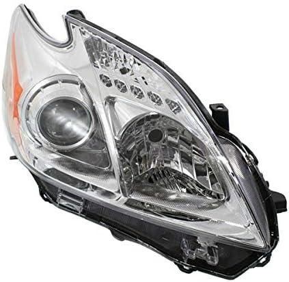 Koolzap For 授与 12-15 Prius Hatchback Headlight Front Headlamp Halog 低価格