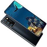 Note21U 5G Smartphone Gratis Android 10.0, Tarjeta FHD Dual SIM de 6.6 Pulgadas 12GB RAM + 512GB ROM, cámara de 18MP + 48MP, procesador de 10 núcleos WiFi GPS, reconocimiento Facial de 5000mAh