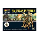 Bolt Action WWII American Infantry plastic boxed set