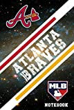 Atlanta Braves Sport Notebook & Journal With Logo Team Atlanta Braves NFL , NHL , MLB , NCAA #A9