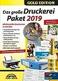 Das große Druckerei Paket 2019 - Einladungen, Glückwunsch Karten, Etiketten, CD-DVD Labels,...