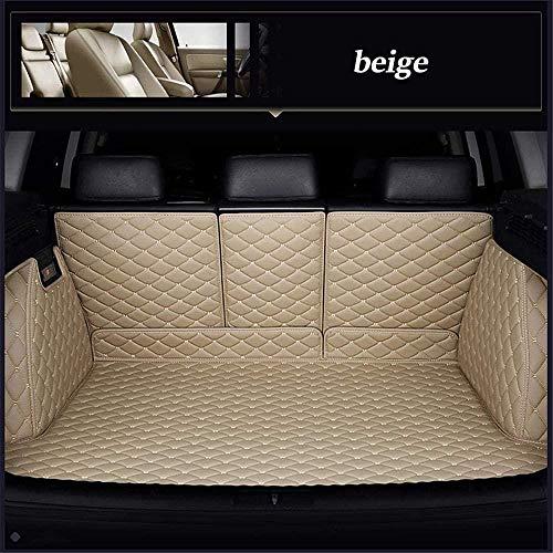 0beilita Kofferraummatte Kofferraumschutz für Opel Insignia 2019 2020 Buick Regal Kofferraum Schutzmatte Ladekantenschutz Autozubehör, Beige