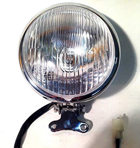 Scheinwerfer inkl Glühbirnen Licht ZNEN Motorroller Retro Scooter Roller