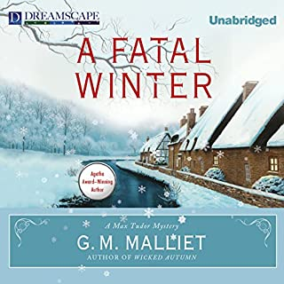 A Fatal Winter audiobook cover art