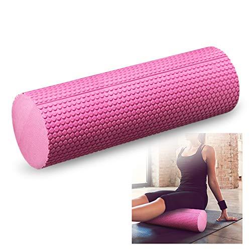 Lixada - Yoga-Schaumstoffrollen in Rosa, Größe 30cm